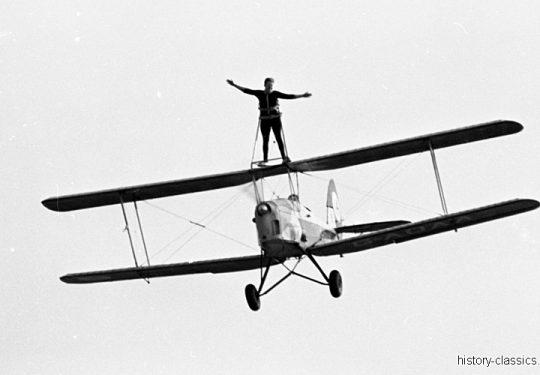 Stampe-Vertongen SV.4 - Kunstflugmaschine / Stunt Plane