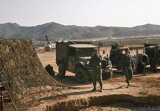 USA in Korea nach dem Waffenstillstandsabkommen / US ARMY in Korea after the ceasefire agreement