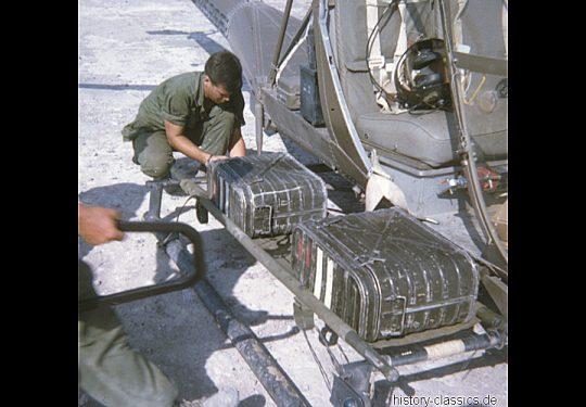 US ARMY / United States Army Hiller H-23 / OH-23 Raven - USA Vietnam-Krieg / Vietnam War