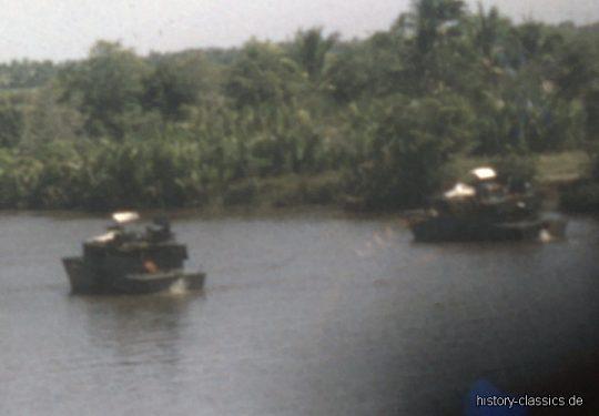 USA Vietnam-Krieg / Vietnam War - Bearcat Base - River and Coast Patrol
