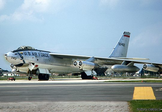 USAF United States Air Force Boeing EB-47E Stratojet