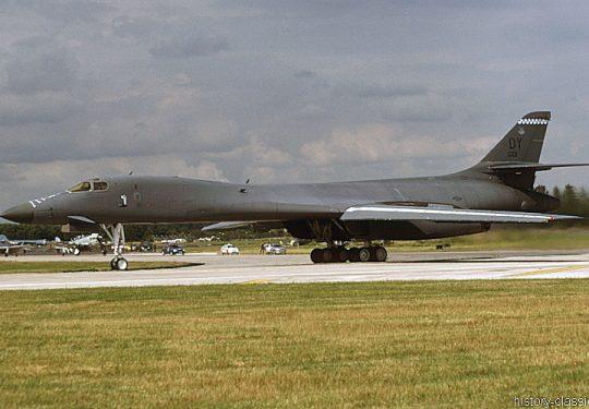 USAF United States Air Force Rockwell B-1B Lancer