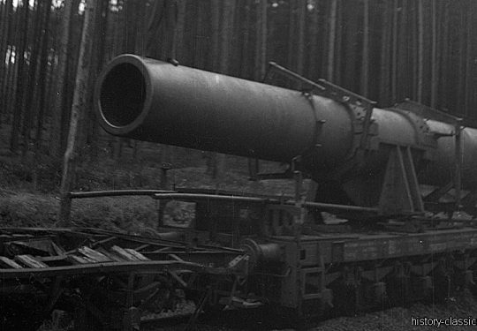 Wehrmacht Heer Eisenbahngeschütz / Railway Gun - Schwerer Gustav / DORA - 80 cm / 31.5 inch