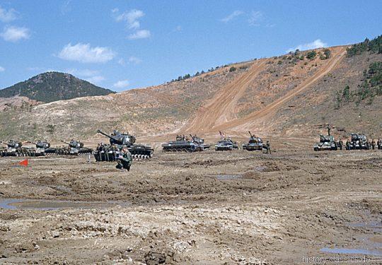US ARMY / United States Army schwerer Kampfpanzer M26 Pershing