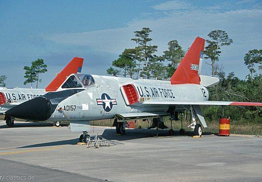 USAF United States Air Force Convair QF-106A Delta Dart