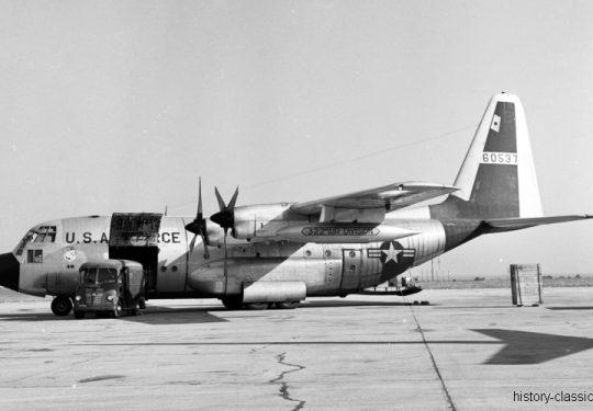 USAF United States Air Force Lockheed C-130A Hercules