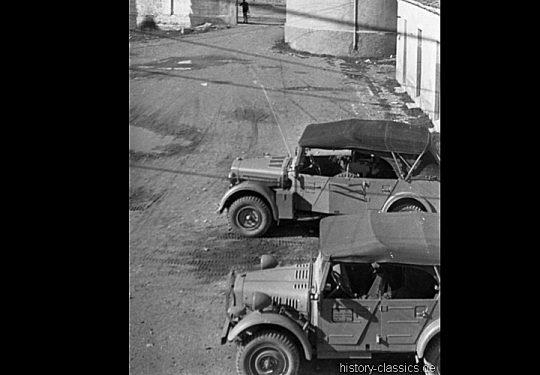 Wehrmacht Heer / Luftwaffe leichter & mittlerer Einheits-Pkw