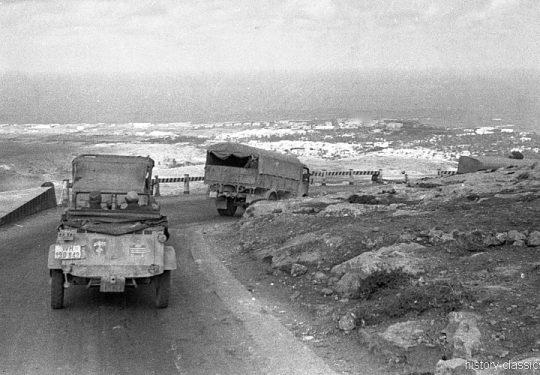 Wehrmacht Heer Deutsches Afrikakorps DAK / Heeresgruppe Afrika - VW Kübelwagen