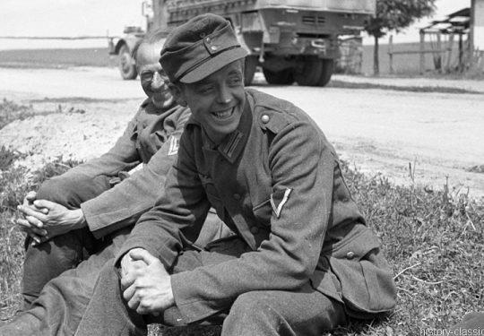 2. Weltkrieg Wehrmacht Heer – Ostfront - Aufbruch in Richtung Smolensk