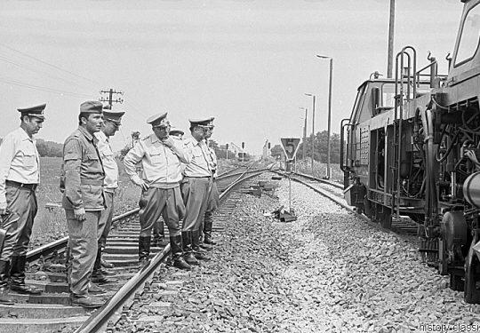 Deutsche Reichsbahn - Eisenbahnbaupioniere der NVA - Momentaufnahmen