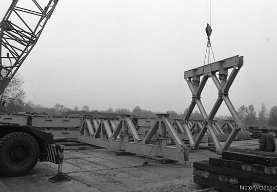 Deutsche Reichsbahn - Eisenbahnbaupioniere der NVA - Baustellen