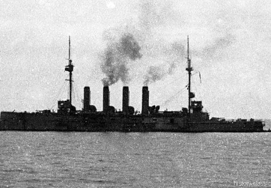Royal Navy Kreuzer Diadem-Klasse / Diadem-Class - H.M.S. Amphitrite