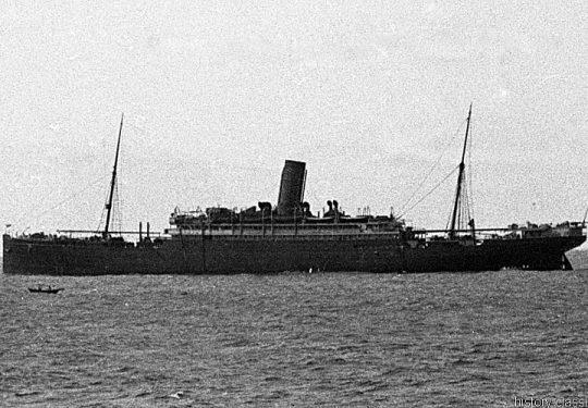Royal Navy Leichter Hilfskreuzer / Armed Merchant Cruiser - H.M.S. Victorian