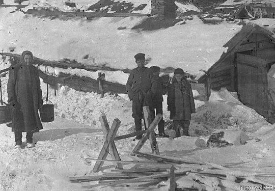 1. Weltkrieg Deutsches Heer – Stellung Niemandsland