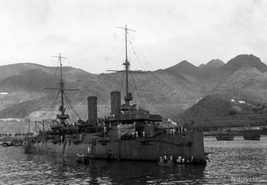 Spanische Marine Kreuzer Cardenal Cisneros-Klasse - Spain Navy Cruiser Cardenal Cisneros-Class - Armada Española Crucero Clase Cardenal Cisneros - Pricessa de Asturias