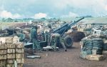 US ARMY / United States Army Leichte Feldhaubitze M102 105 mm / Leight Howitzer M102 - 4.1 Inch