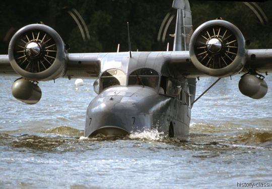 US NAVY / United States Navy Grumman G-21 / JRF Goose