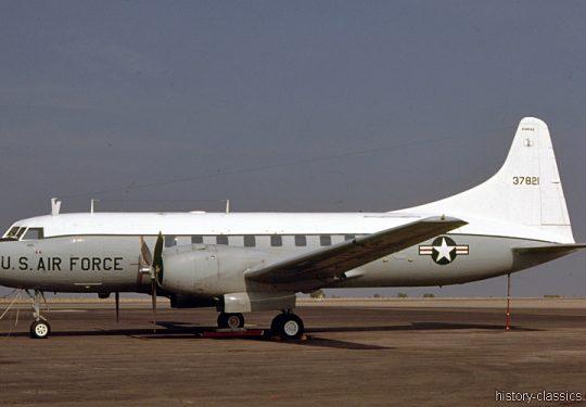 USAF United States Air Force Convair C-131 Samaritan