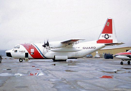 USCG US COAST GUARD Lockheed HC-130H Hercules