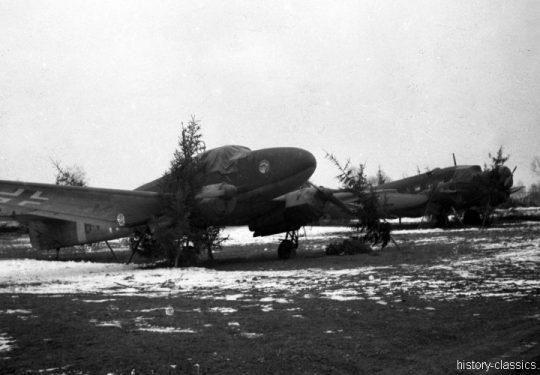 Wehrmacht Luftwaffe Junkers Ju 52 & Focke-Wulf Fw 58 Weihe