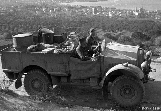 Wehrmacht Heer Beutefahrzeug Morris Commercial 15 cwt Truck