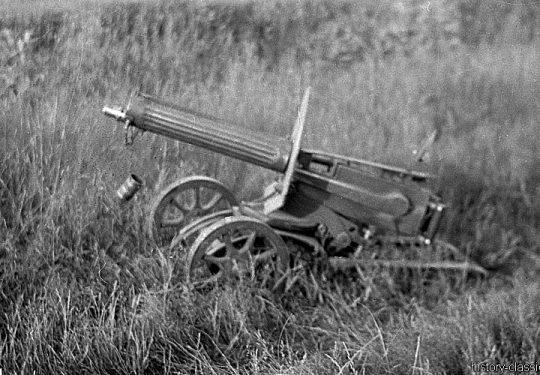 2. Weltkrieg Sowjetarmee / Rote Armee – Ostfront - Maschinengewehr Maxim's Model 1910