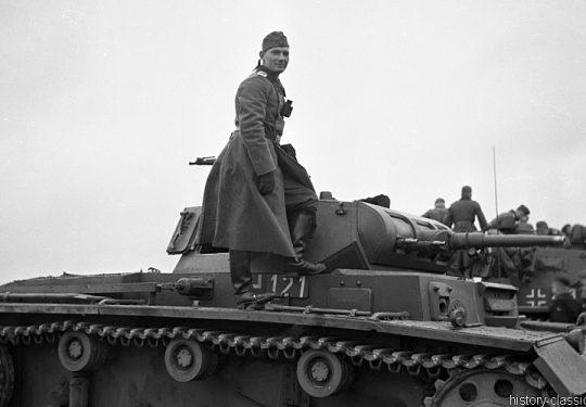 Wehrmacht Heer Panzerkampfwagen III PzKpfw III Panzer III Ausf. E