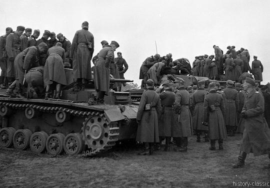Wehrmacht Heer Panzerkampfwagen III PzKpfw III Panzer III Panzer III Ausf. E