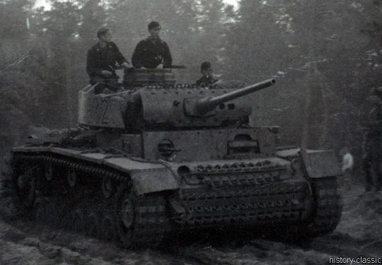 Wehrmacht Heer Panzerkampfwagen III PzKpfw III Panzer III Ausf. M