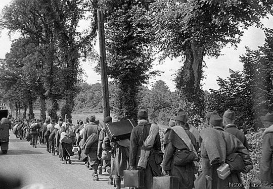 2. Weltkrieg Wehrmacht Heer Europa – Kriegsgefangene belgische Soldaten