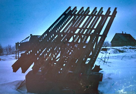 2. Weltkrieg  Sowjetarmee / Rote Armee – Ostfront - Stalin-Orgel Katyusha