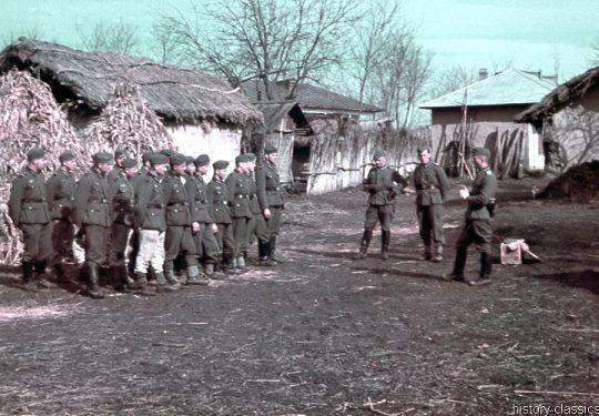 2. Weltkrieg Wehrmacht Heer – Farbfotos von der Ostfront
