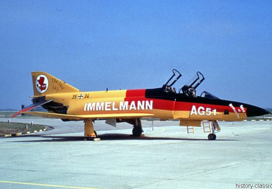 Bundeswehr Luftwaffe McDonnell Douglas RF-4E Phantom II