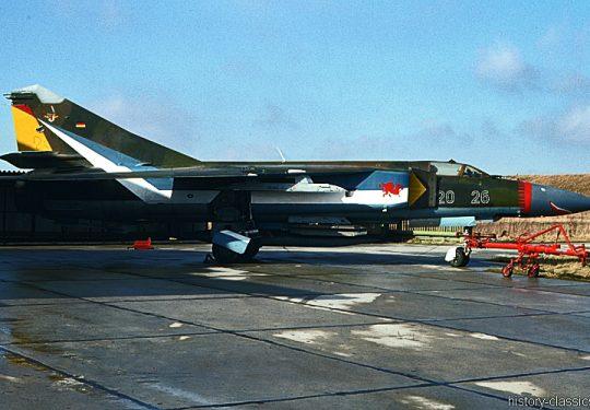 Bundeswehr Luftwaffe Mikojan-Gurewitsch MiG-23