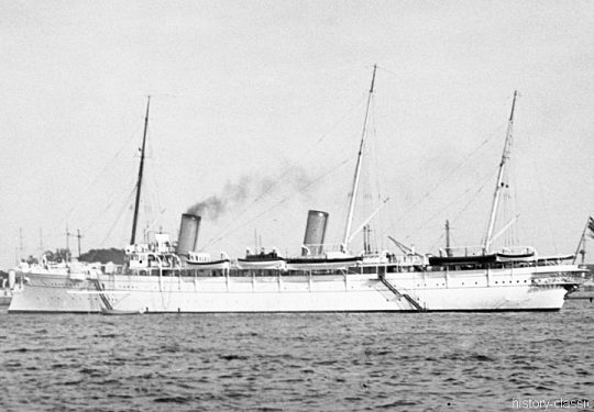 (Kaiserliche Marine) S.M. Jacht Hohenzollern - Kaiser Wilhelm II.