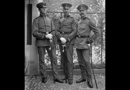 Vor dem 1. Weltkrieg Deutsches Heer – Uniformen