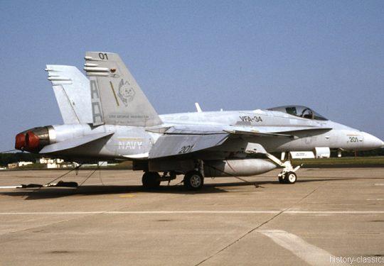 US NAVY / United States Navy McDonnell Douglas F-18C