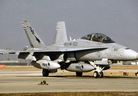USMC United States Marine Corps McDonnell Douglas F-18D Hornet