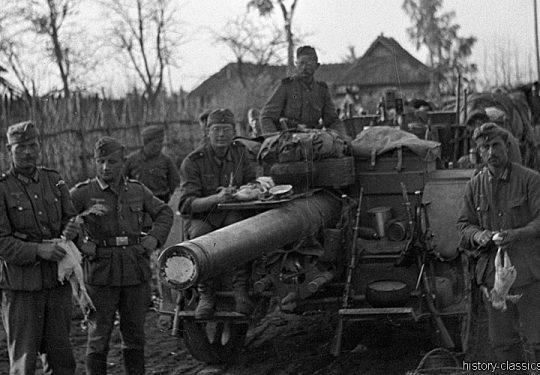 Wehrmacht Heer Feldkanone K15/16(t) K410(i) 15,2 cm - Ex Tscheslowakei Autokanone M.15/16