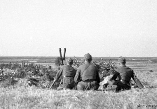 Wehrmacht Heer Ausbildung - Artillerie - Frankreich 1943