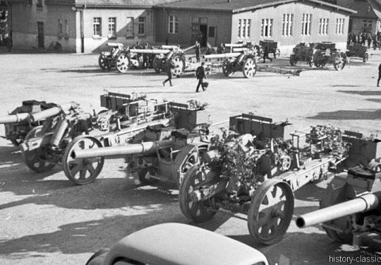 Wehrmacht Heer Schwere Feldhaubitze sFH 18 L/29,5 15 cm