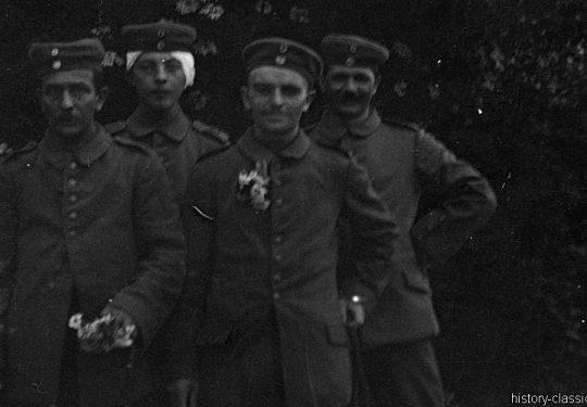 1. Weltkrieg Deutsches Heer - Stellungskriege - Sanitätsdienst / Sanitätswesen