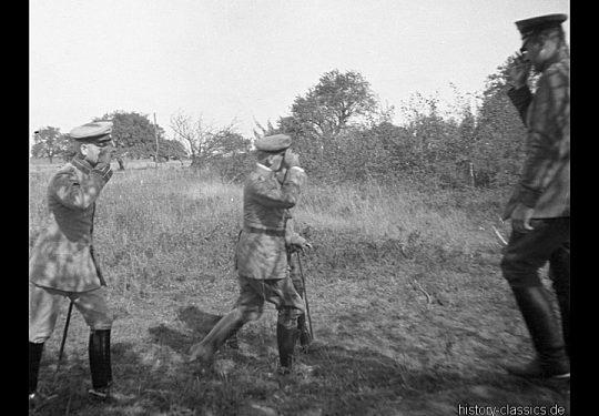 1. Weltkrieg Deutsches Heer - Stellungskriege - Ausbildung