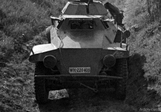 Wehrmacht Heer Leichter Panzerspähwagen Sd.Kfz 221