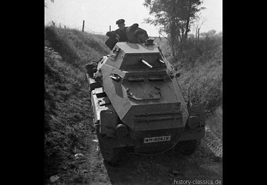 Wehrmacht Heer Schwerer Panzerspähwagen Sd.Kfz 231