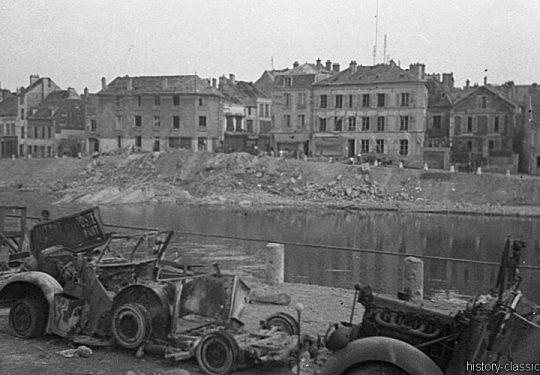 Wehrmacht Heer / Luftwaffe Geländewagen Horch 901 - Friendly Fire in Frankreich