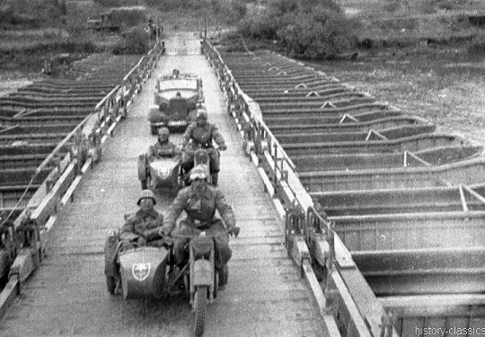 Wehrmacht Heer Motorradgespann BMW R 75