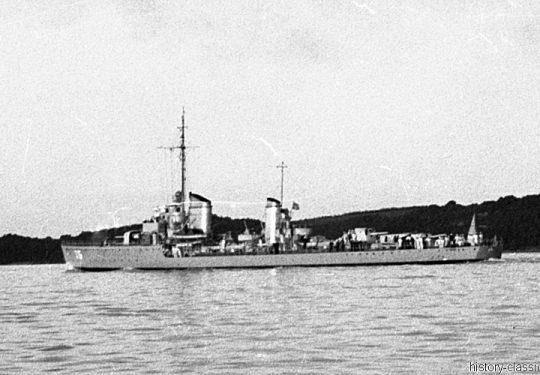 Wehrmacht Kriegsmarine Torpedoboot 1924 Raubtier-Klasse - TG Tiger