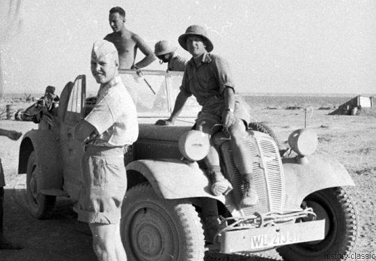 Wehrmacht Heer Deutsches Afrikakorps DAK / Heeresgruppe Afrika - Luftwaffe