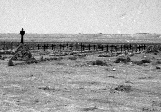 Wehrmacht Heer Deutsches Afrikakorps DAK / Heeresgruppe Afrika - Kriegsgräber
